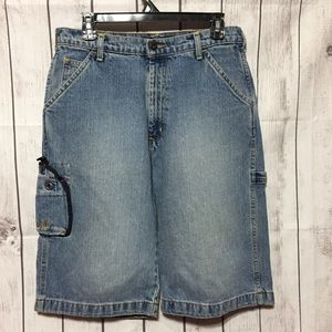 Polo Jeans Co RL-67 Blue Jean Shorts Mens 29